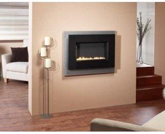 Focal Point Fires Aden Hang on the Wall Flueless Gas Fire | Fireplace World