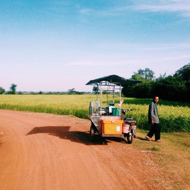 Close to Phnom Penh. Cambodia.