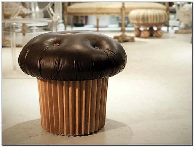 Designer Matteo Bianchi Designed The Delectable Muffin Pouffe To Look A Lot Like Top Of