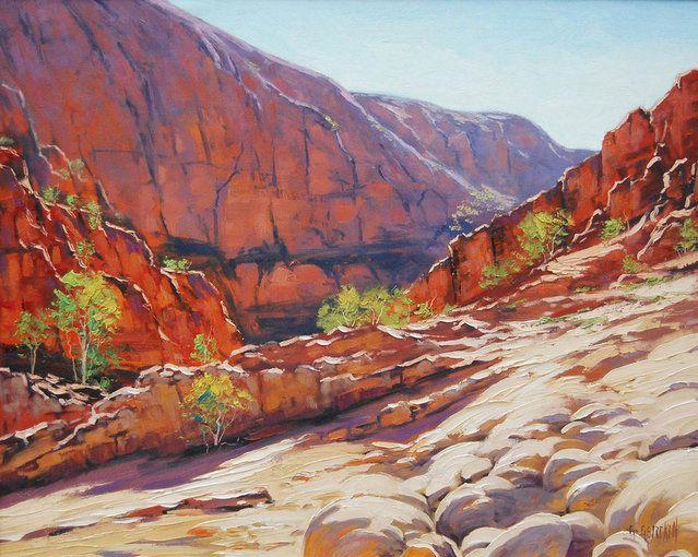 By Australian Landscape artist Graham Gercken