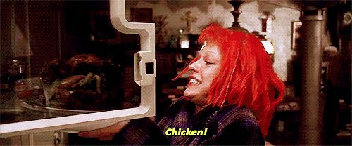 "It's OK to eat the entire contents of your fridge. | 16 Life Lessons From ""The Fifth Element"""