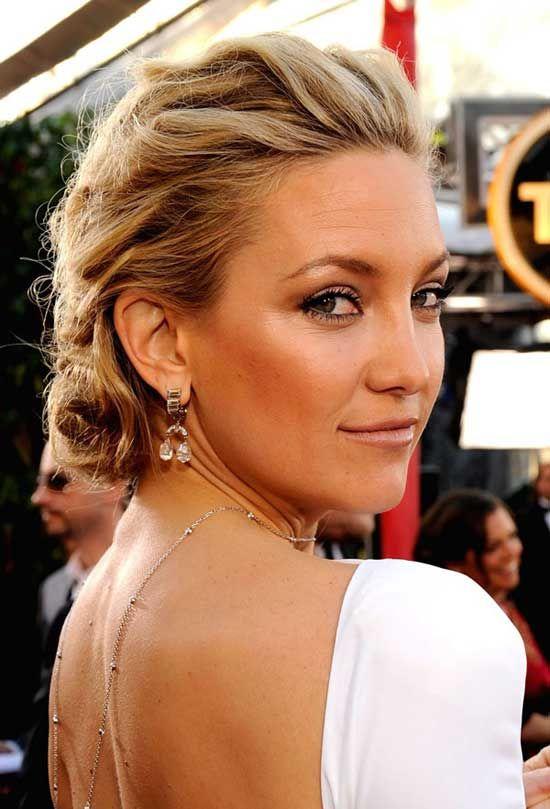 kate bronzeBack Necklaces, Backless Dresses, Katehudson, Kate Hudson, Makeup, Red Carpets, Beautiful, Hair Style, Open Back