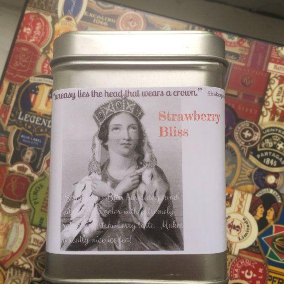 Shakespeare Strawberry Bliss Fruit Tisane Tea by TTimeOrganics