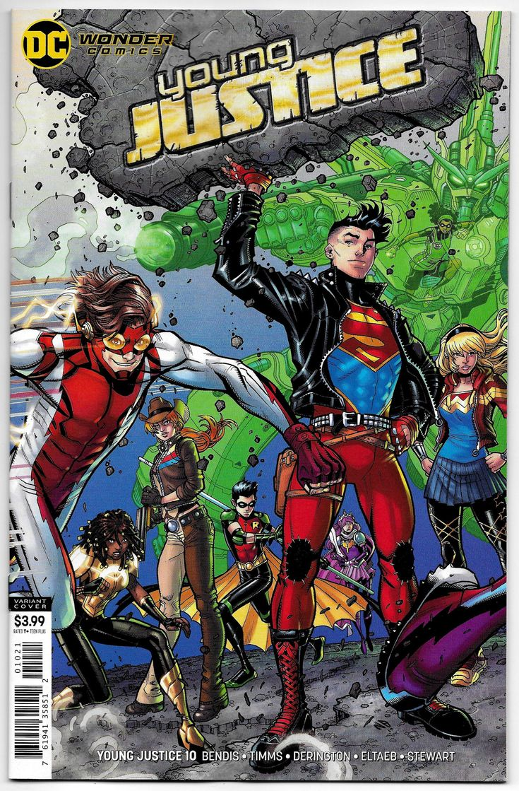 Young Justice 10 Bradshaw Variant Cvr (DC, 2020) NM