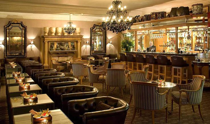 Cavalry Bar Hospitality Interior Design Of 41 Hotel London