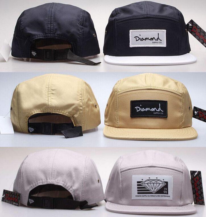 Hot new 20 stile cinque 5 pannello di diamante snapback caps hip hop  Cappello piatto berretto cappelli per gli uomini casquette gorras planas bone aba reta  Toca