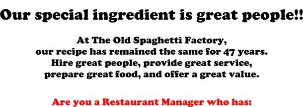 Restaurant Manager- NOW HIRING (Denver)