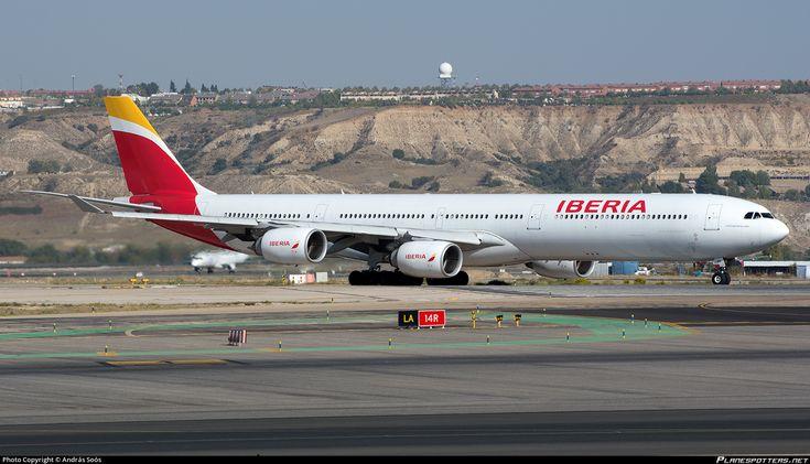 EC-IZX Iberia Airbus A340-642