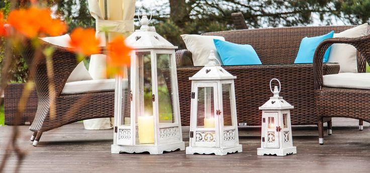 Lampiony i latarenki ogrodowe - stworzą świetny klimat w każdym ogrodzie, na każdym tarasie, czy patio. Zobacz pełną ofertę w sklepie Garden Space!