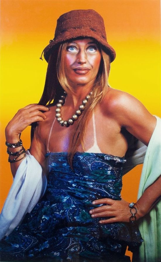 Untitled (Self-Portrait with Sun Tan) by Cindy Sherman