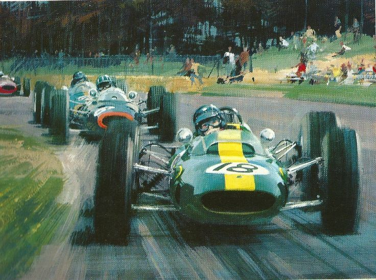 Superieur Michael Turner, Car Painting, Car Drawings, Automotive Art, Sports Art,  Motor Sport, Auto Racing, Formula 1, Race Cars