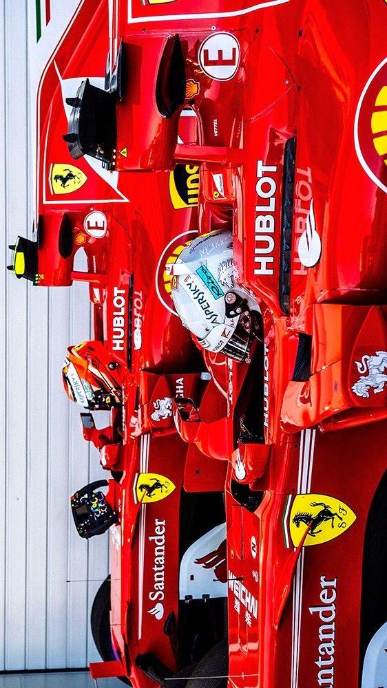 """2017/4/29:Twitter:@ScuderiaFerrari:Russian Grand Prix - """"The car was phenomenal"""". #RussianGP #ForzaFerrari"""