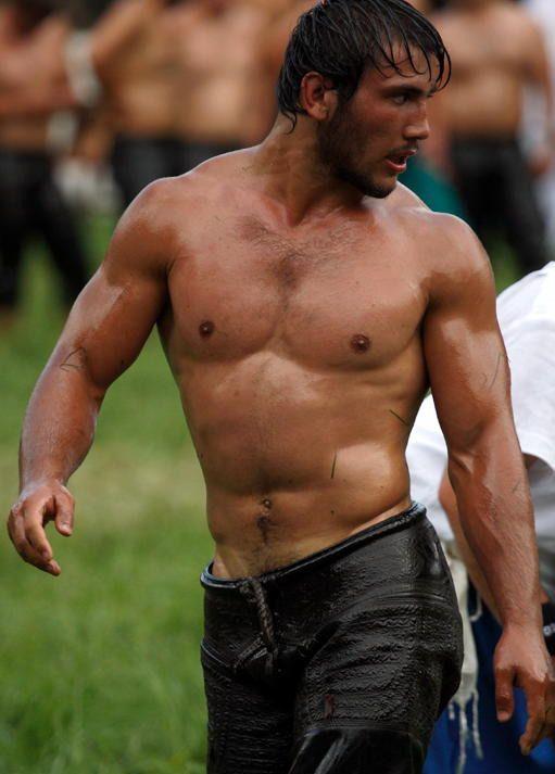 Hot Greek Men   Re: Turkish traditional Oil Wrestling Festival begins ...