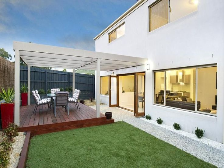Outdoor living design with pergola from a real Australian home - Outdoor Living photo 1578102