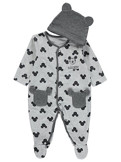 Disney Mickey Mouse All in One with Hat , read reviews and buy online at George at ASDA. Shop from our latest range in Baby. Your little one will look unbel...