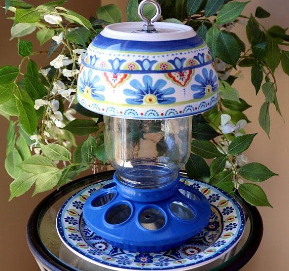 Hey, I found this really awesome Etsy listing at https://www.etsy.com/listing/259435252/mediterranean-mason-jar-bird-feeder