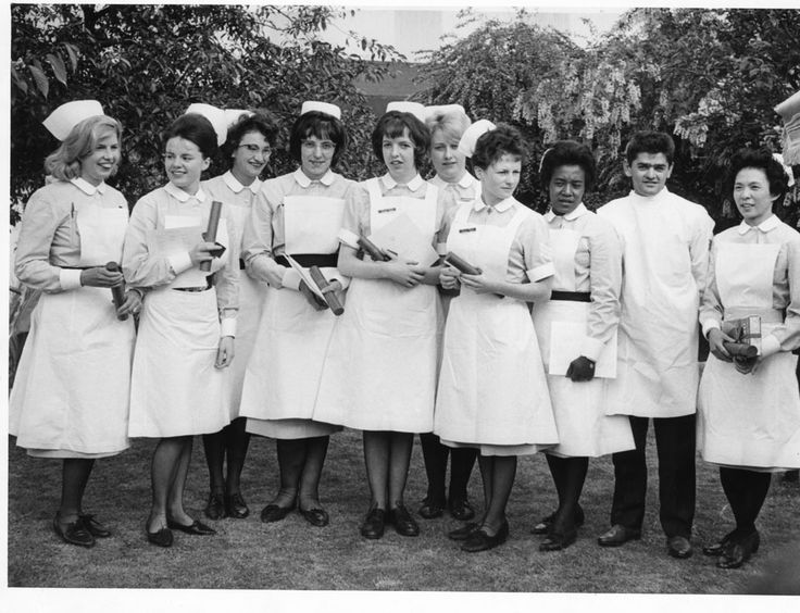 1965. Group Nurses Prize Giving