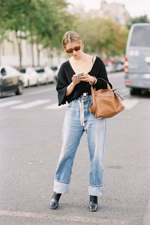 A Feminine Tomboy — Paris Fashion Week SS 2017…Irina | Vanessa Jackman