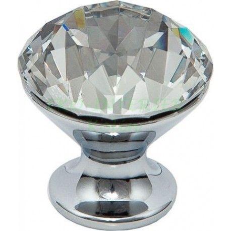 Nábytková knopka Crystal 03