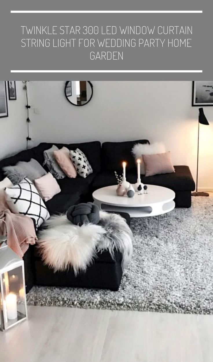 29 Great Grey Living Room Ideas In 2021 Black And White Living Room Black Living Room Living Room Grey Star living room decor