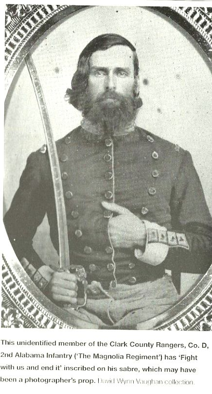Magnolia Regiment of Alabama -- Regimental nicknames were varied, most were named after their commander. Some regiments took on the names of flowers, like the Magnolia Regiment of Alabama.