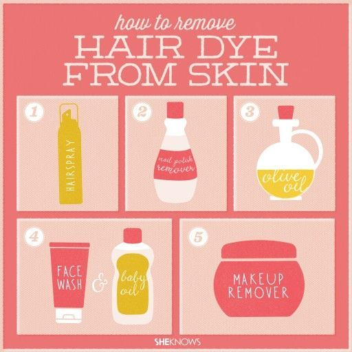 How To Remove Hair Dye From Skin | DIY Tag