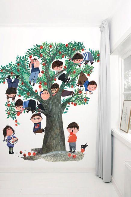 Apple Tree white | Behang Fiep Westendorp | Puur Beleven