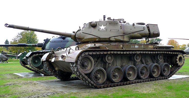 us m47 patton tank