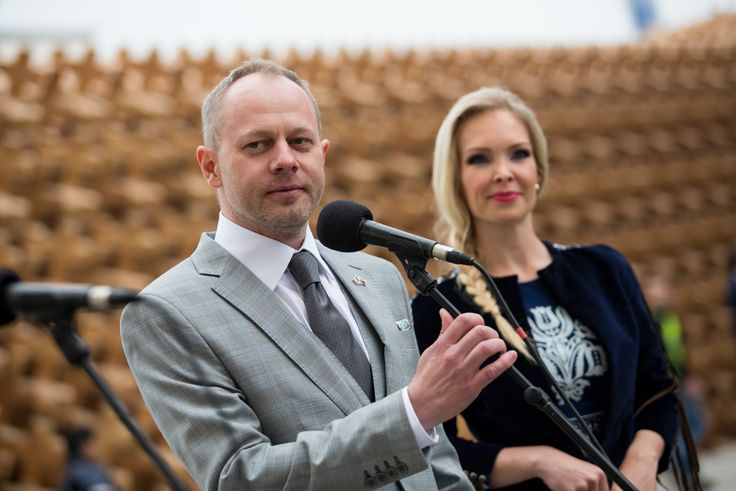 Opening speech of the Comissioner General of the Slovak pavilion Mr. Martin Polak at the opening of EXPO 2015.
