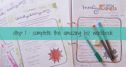4 steps to biz planning that doesn't suck.  (ie - your biz. your plans. your way!!) my guest post for leoniedawson.com