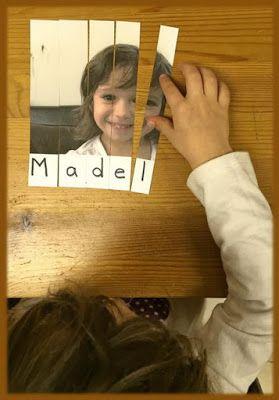 Actividades para Educación Infantil: Trabajamos el nombre II
