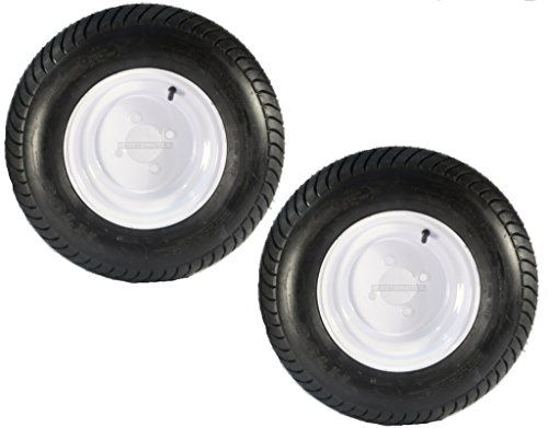 Two Trailer Tires & Rims 20.5 X 8 X 10 205/65-10 20.5/8-10 20.5/800-10 4H White  #20inchtires #wheelsandtires https://www.safetygearhq.com/product/tyre-shop-tire-warehouse/two-trailer-tires-rims-20-5-x-8-x-10-20565-10-20-58-10-20-5800-10-4h-white/