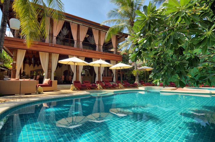 Time to relax! #pool #holidays #resort #zazen #samui