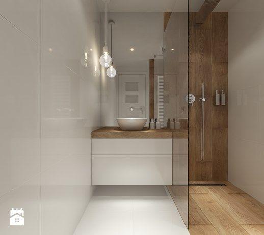 Projekt łazienek. Stratford, Anglia. - Łazienka, styl skandynawski - zdjęcie od PROJEKTYW | Architektura Wnętrz & Design