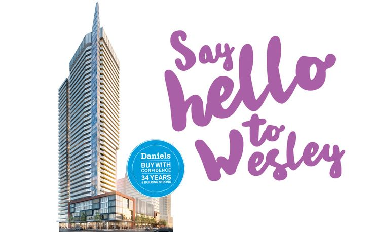 New additon to Daniels City Centre, Wesley Tower Condo near Square one in Mississauga. Checkout: https://www.wesleytower-condo.ca