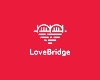Love Bridge logo work I Brilliant idea and great execution!
