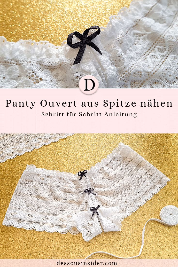 116 best DIY - Dessous nähen images on Pinterest | Schnittmuster ...