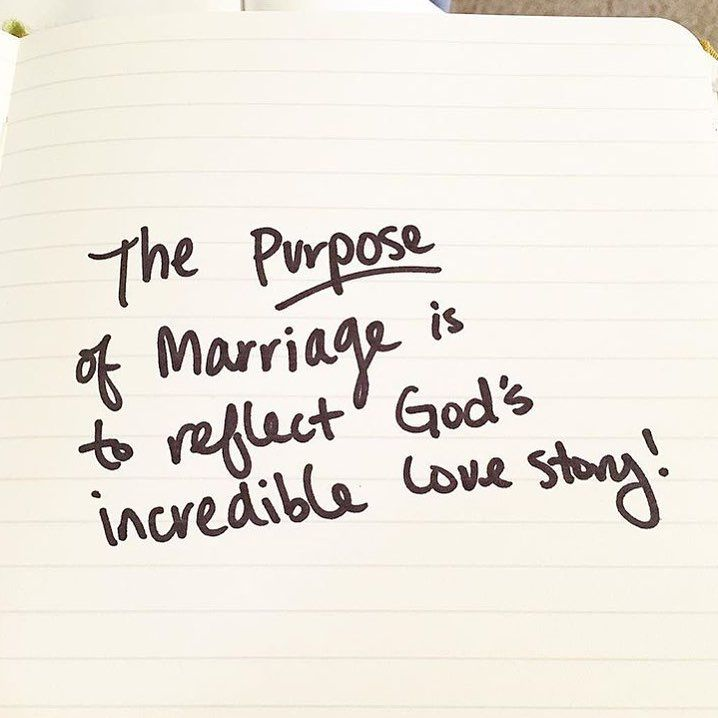 """Your marriage has great purpose! Consider that when you interact and react toward your spouse! Let Christ's love shine brightly through you and your marriage!"" -The unveiled wife"