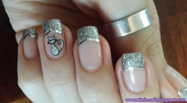 french manicure cat - Google-haku