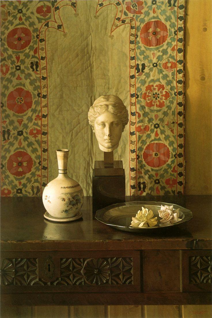 Cabeza romana / Roman Head [1997] Óleo sobre lienzo / Oil on canvas 130 x 89 cm / 51 1/8 x 35 in ClaudioBravo.com #ClaudioBravoCamus #ClaudioBravo