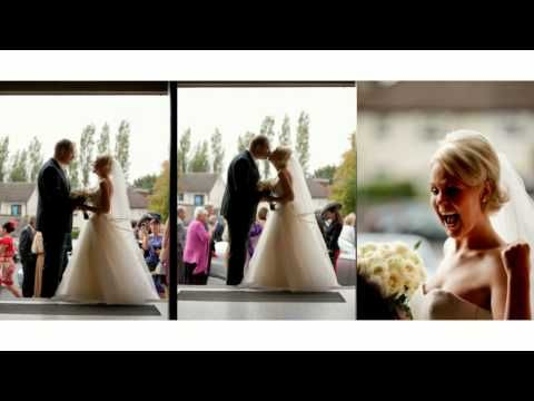 Sarah & Gareth wedding at Barberstown castle, Kildare - YouTube