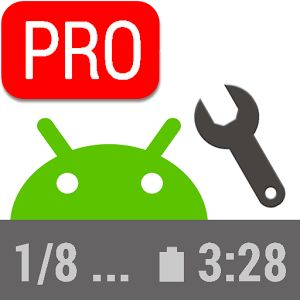 Status Bar Mini PRO 1.0.140 Cracked APK   Status Bar Mini PRO  Original status bar is not good for use as it is just too much notification icons but no useful statistics.  This app help you to adding meaningful text readings (text overlay) to your screen. You can add date in different formats battery level and temperature available memory (RAM) and CPU reading. You can quickly refer to the statistics at anytime. You can also change their font size color order location transparency and…