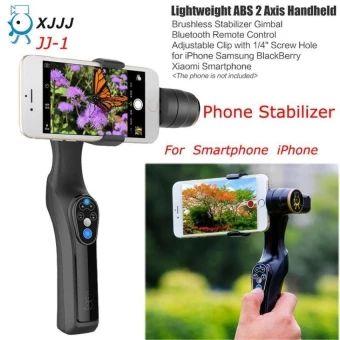 ขอแนะนำ  New JJ-1 2-Axis ABS Handheld Gimbal Brushless StabilizerforSmartphone Iphone 6 - intl  ราคาเพียง  4,239 บาท  เท่านั้น คุณสมบัติ มีดังนี้ Lightweight ABS material 2-Axis handheld stabilizing gimbal High smooth&low noise brushless motor Strong and adjustable clip Clip width up to 8.5cm/3.3inch Bluetooth Pitch angle range of 0°~ 330° Roll angle range of 0°~ 300°