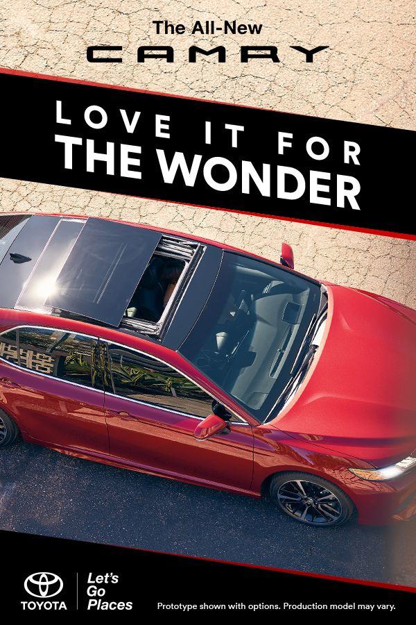 25 best camry images on pinterest toyota camry auto accessories the all new 2018 toyota camry is a joyride for the senses slip into fandeluxe Gallery