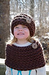 Ravelry: The Chunky Monkey Set pattern by SPRE Patterns & Design $2.50