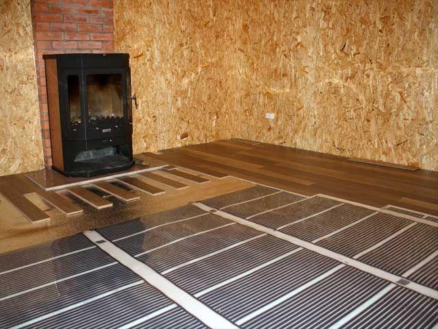 Теплый пол в доме из сип панелей (видео, фото, характеристики)
