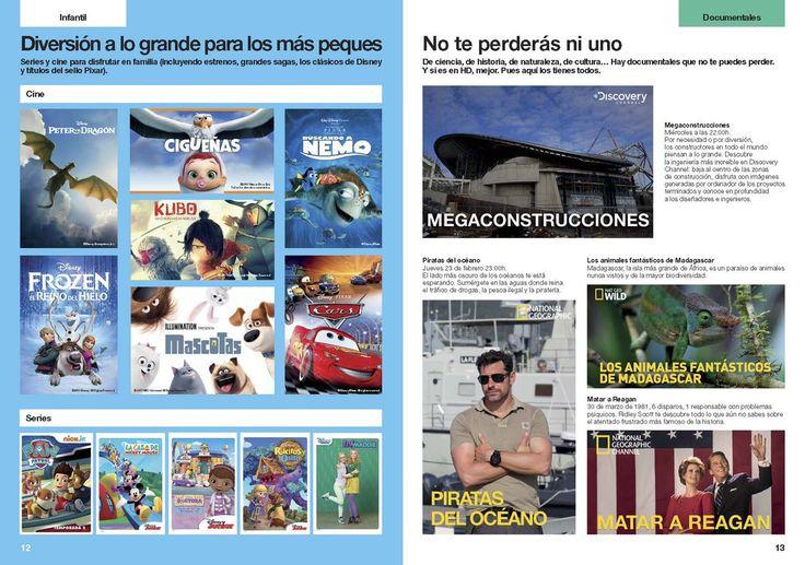 ¡Los últimos estrenos de cine! documentales y diversión para los más peques con Orange TV Cine y Series. #FelizLunes