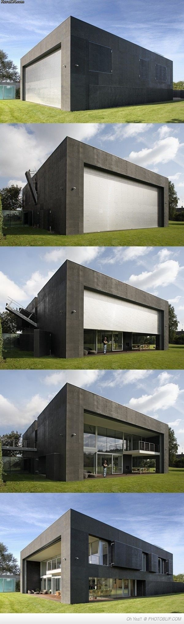 Really like this building.. It's a bunker oh no wait it a space with a ton of natural light..
