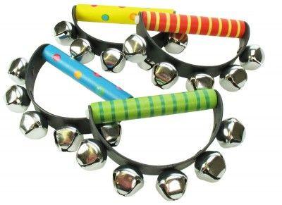 Bigjigs Toys detské hudobné nástroje - Rolničky 2