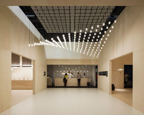 design the lighting design by toan nguyen for vibia is a constellation of globes that - Ceiling Design Ideas